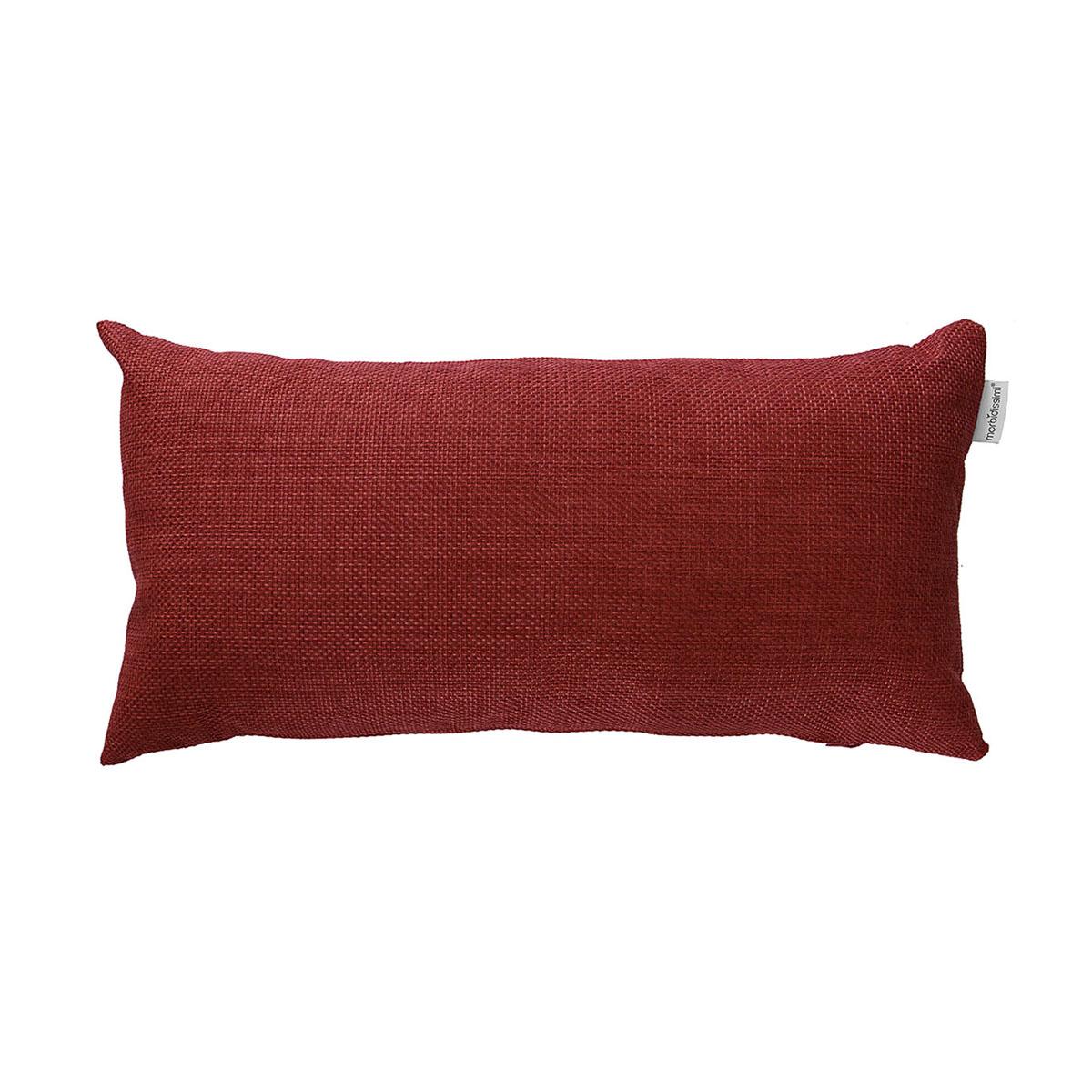 cuscino arredo canapone rosso