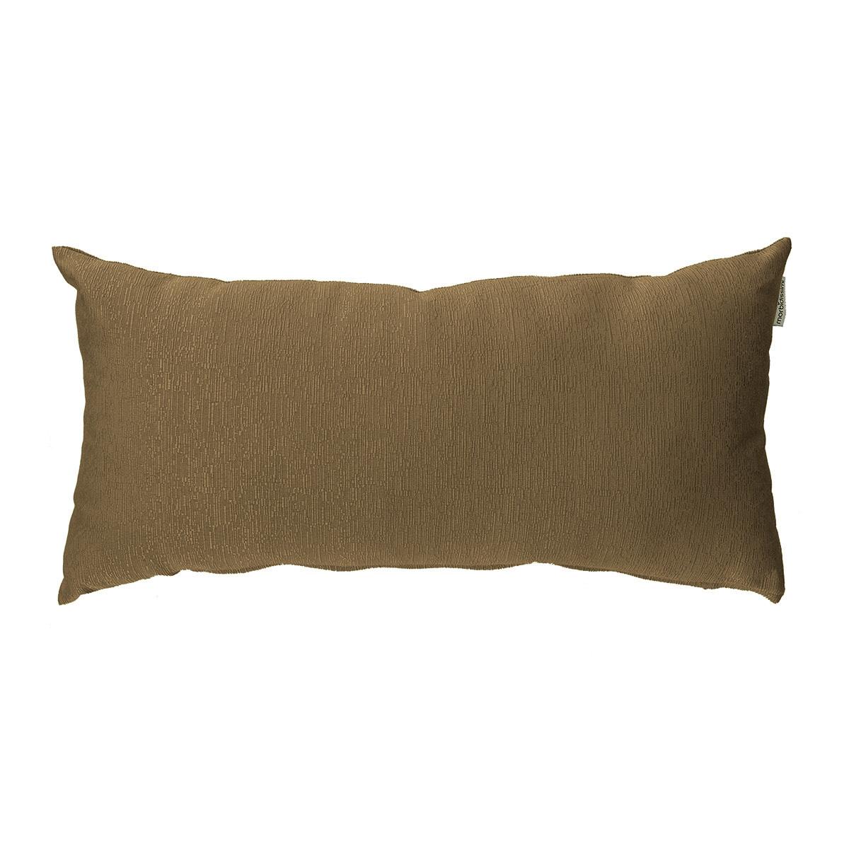 cuscino arredo rettangolare color fango