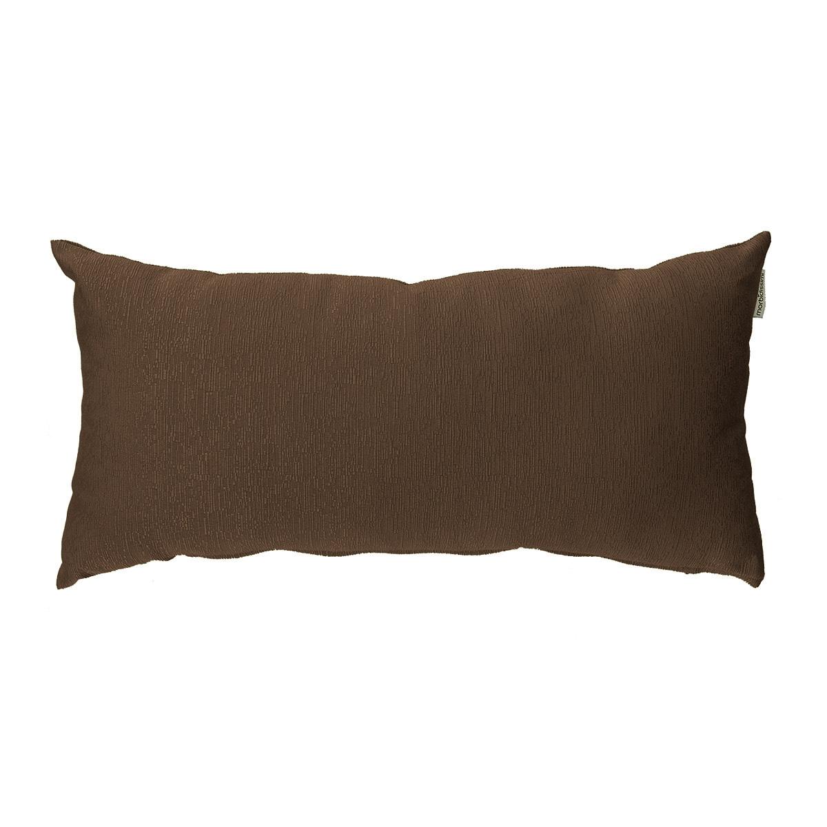 cuscino arredo rettangolare marrone