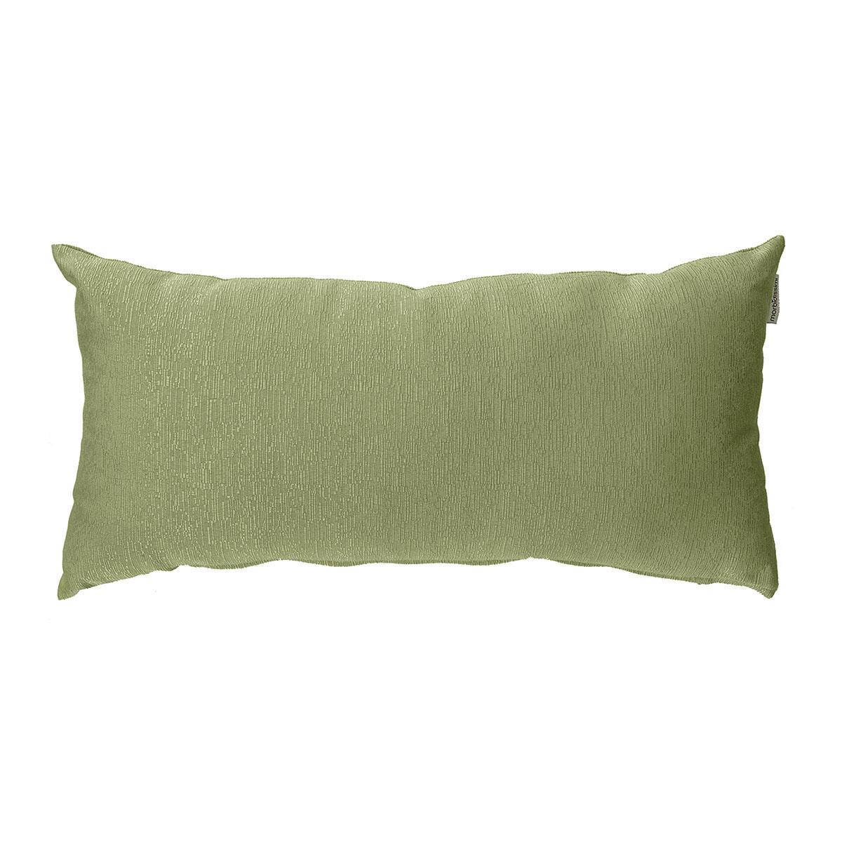cuscino rettangolare ottoman verde oliva