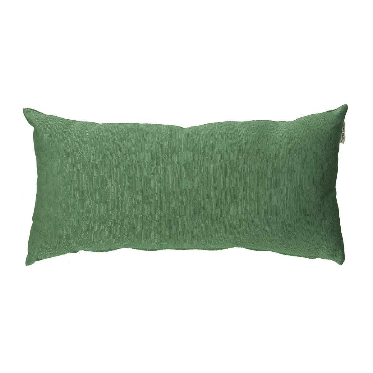 cuscino arredo rettangolare verde