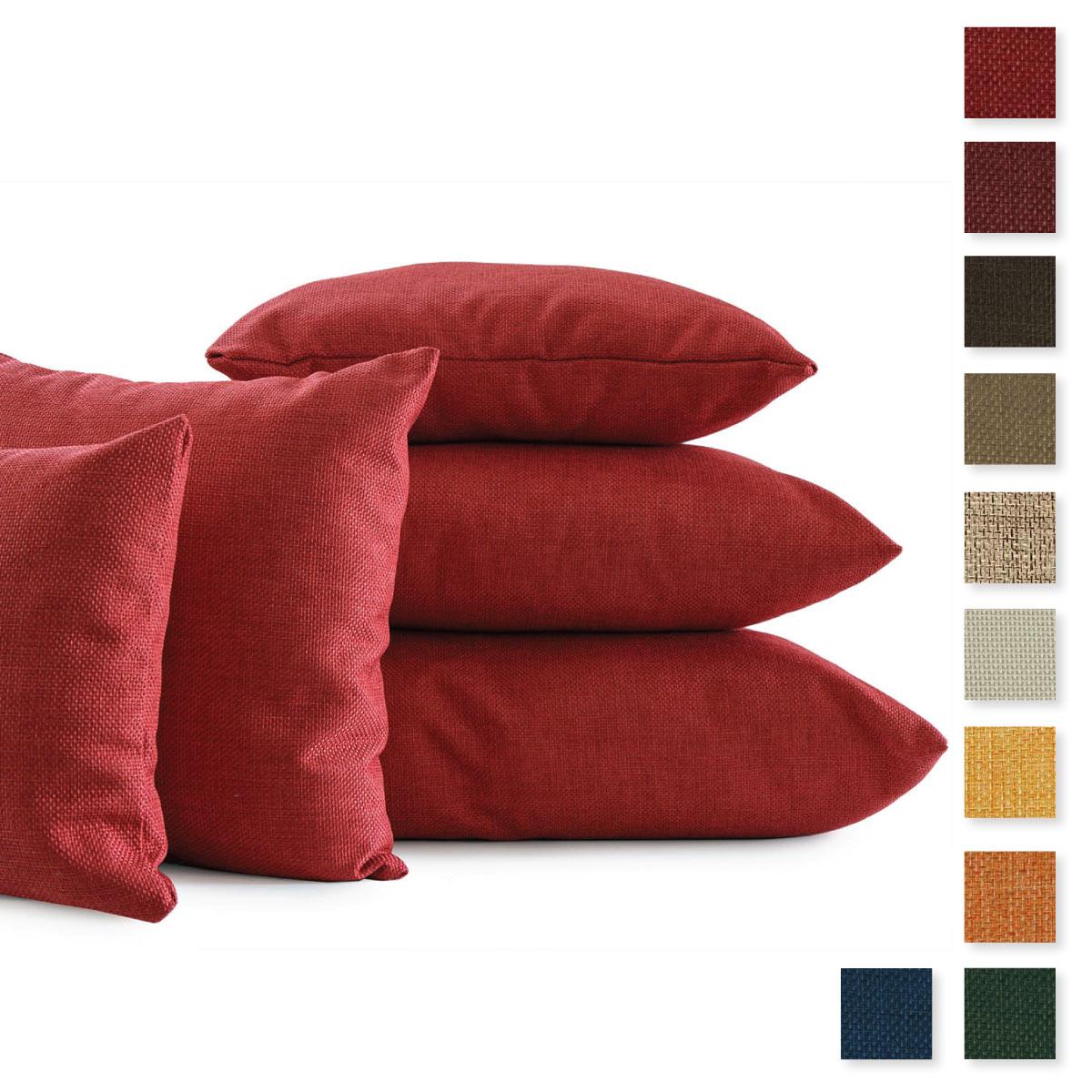 Misure cuscino awesome rio cuscino bracciolo scelta colore in tessuto e bianco o nero in - Foderare cuscino divano ...