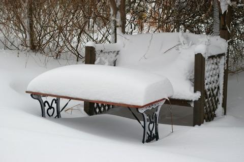 cuscino di neve soffice