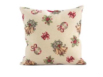 Decorazioni di Natale con i cuscini arredo
