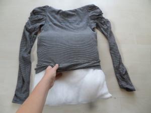 imbottire cuscini con indumenti