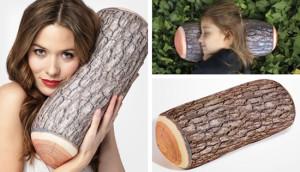 cuscini arredo effetto legno